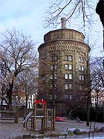 the water tower in Berlin Prenzlauer Berg