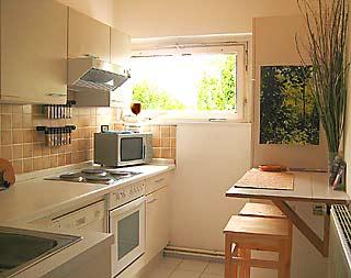 Appartement in de buurt van mauerpark en falkplatz in berlijn prenzlauer berg - Keuken uitgerust m ...